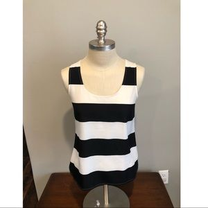 HP!! 💕🎉🎊Ann Taylor striped tank XSP 🎊🎉